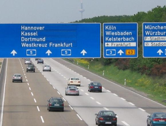 Штрафы для водителей в Германии