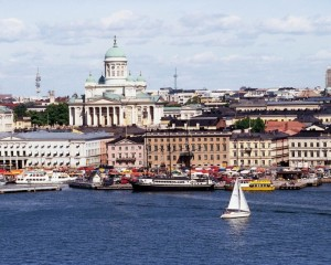 Helsinki-canal-Finland